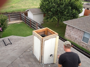 Wood Stove Cleaning Company in Bedford TX - Mr. Sweeps - IMG_0067